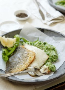 Whitefish and Green Pea Mash